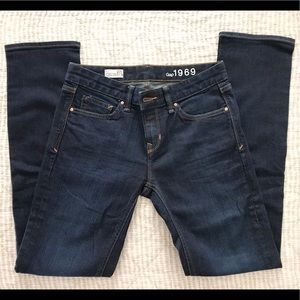 Gap Real Straight Jeans, size 27